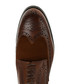 Brown patent leather lace-up brogues Sale - Baqietto Sale