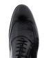 Black leather lace-up smart shoes  Sale - Baqietto Sale