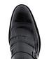 Black leather slip-on shoes Sale - Baqietto Sale