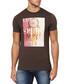 Brown cotton dream catcher T-shirt Sale - armani jeans Sale