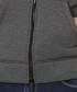 Grey cotton blend zip-up hoodie Sale - armani jeans Sale