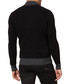 Black & grey wool blend zip-up jumper Sale - armani jeans Sale