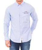 Gysele light blue pure cotton shirt