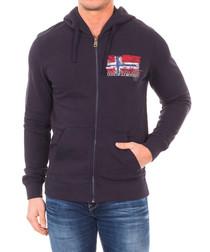Bercus marine pure cotton hoodie