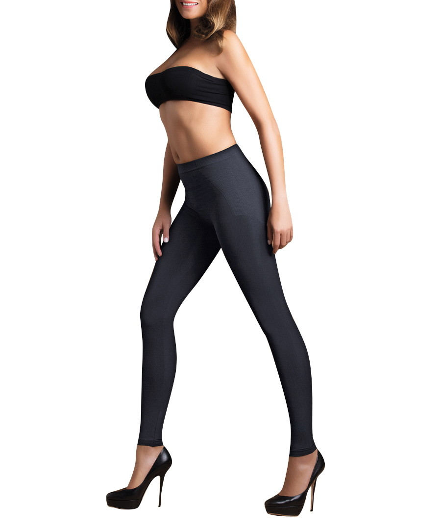 Black low-waisted shaping leggings Sale - bodyeffect