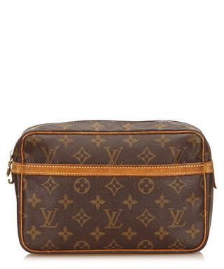 f62c5f0f247c Tan   brown leather clutch bag Sale - Vintage Louis Vuitton Sale