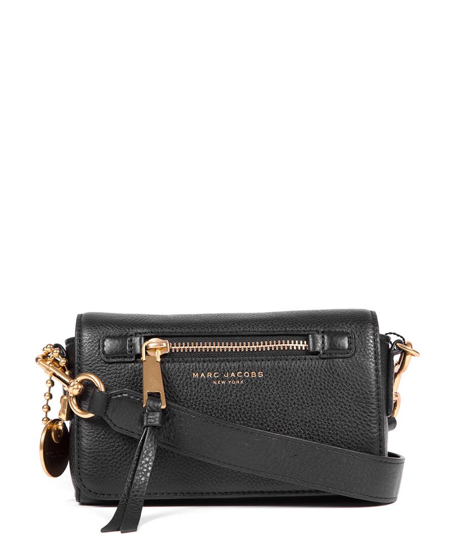 03180224e4 Discount Recruit black leather cross body bag | SECRETSALES
