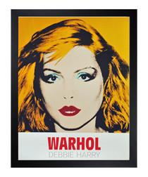 Debbie Harry 1980 framed print