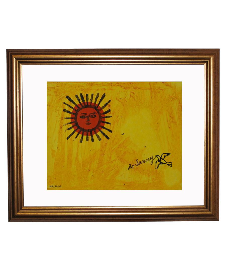 So Sunny framed print 40 x 30 cm Sale - andy warhol