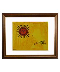 So Sunny framed print