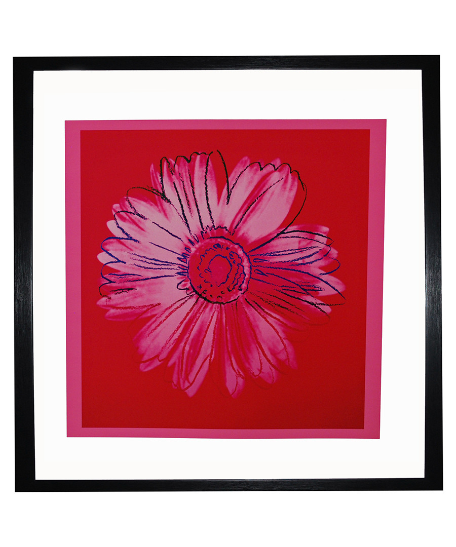 Daisy framed print Sale - Andy Warhol