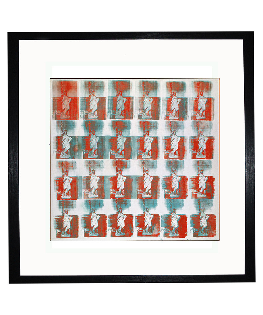 Statue of Liberty framed print Sale - Andy Warhol