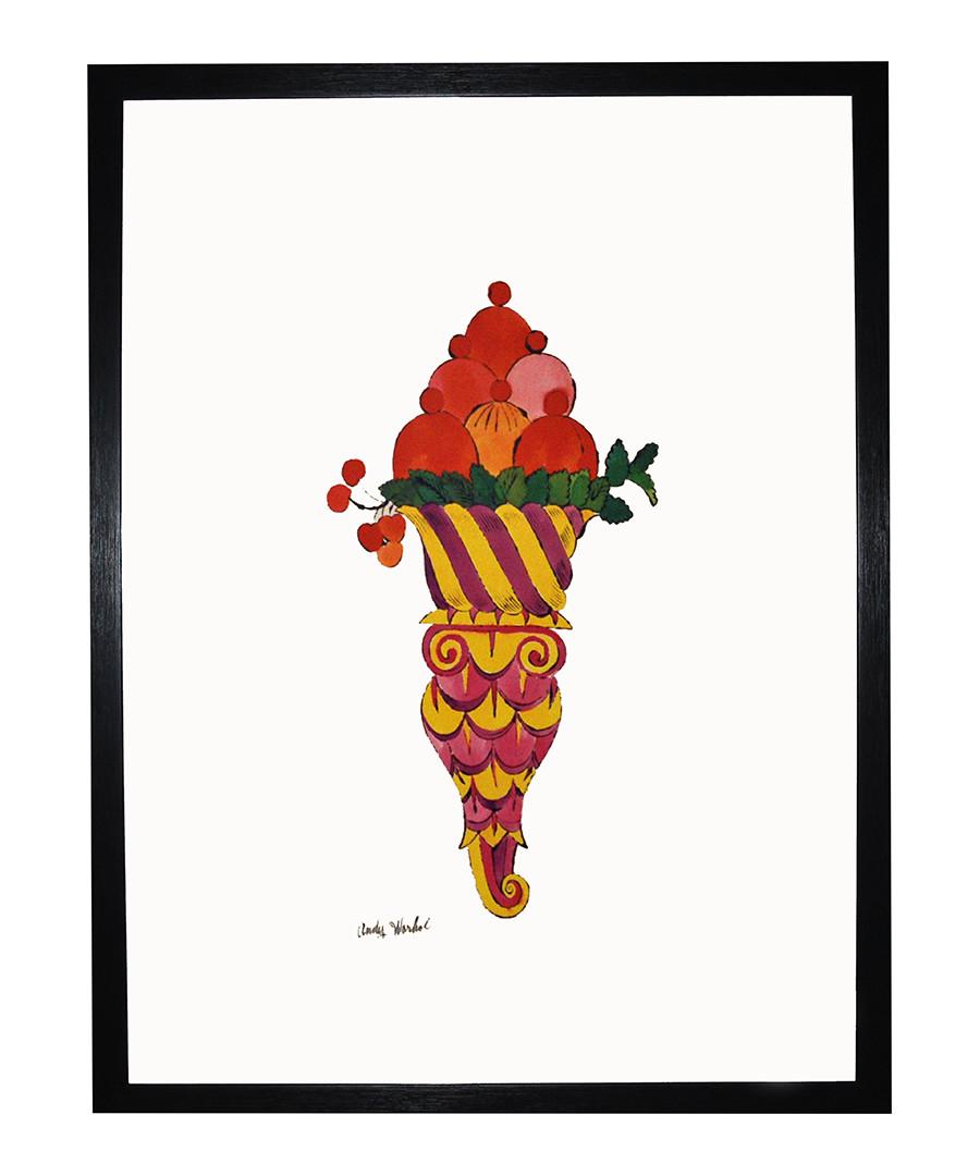 Ice Cream Desert framed print 40 x 40 cm Sale - andy warhol