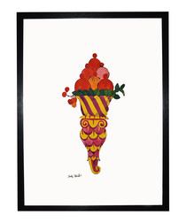 Ice Cream Desert framed print