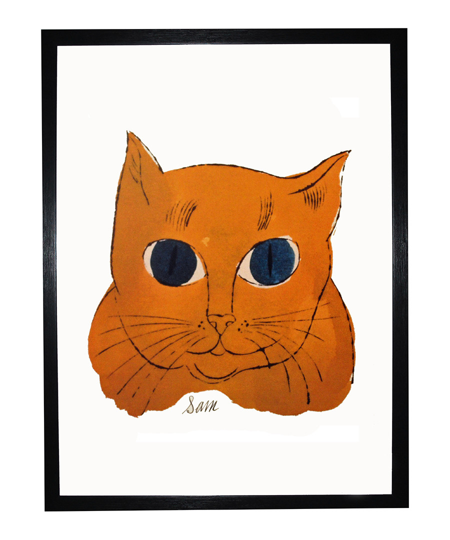 Gold Sam framed print Sale - Andy Warhol