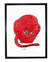 Red Sam framed print