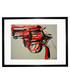 Gun 1981 framed print Sale - Andy Warhol Sale