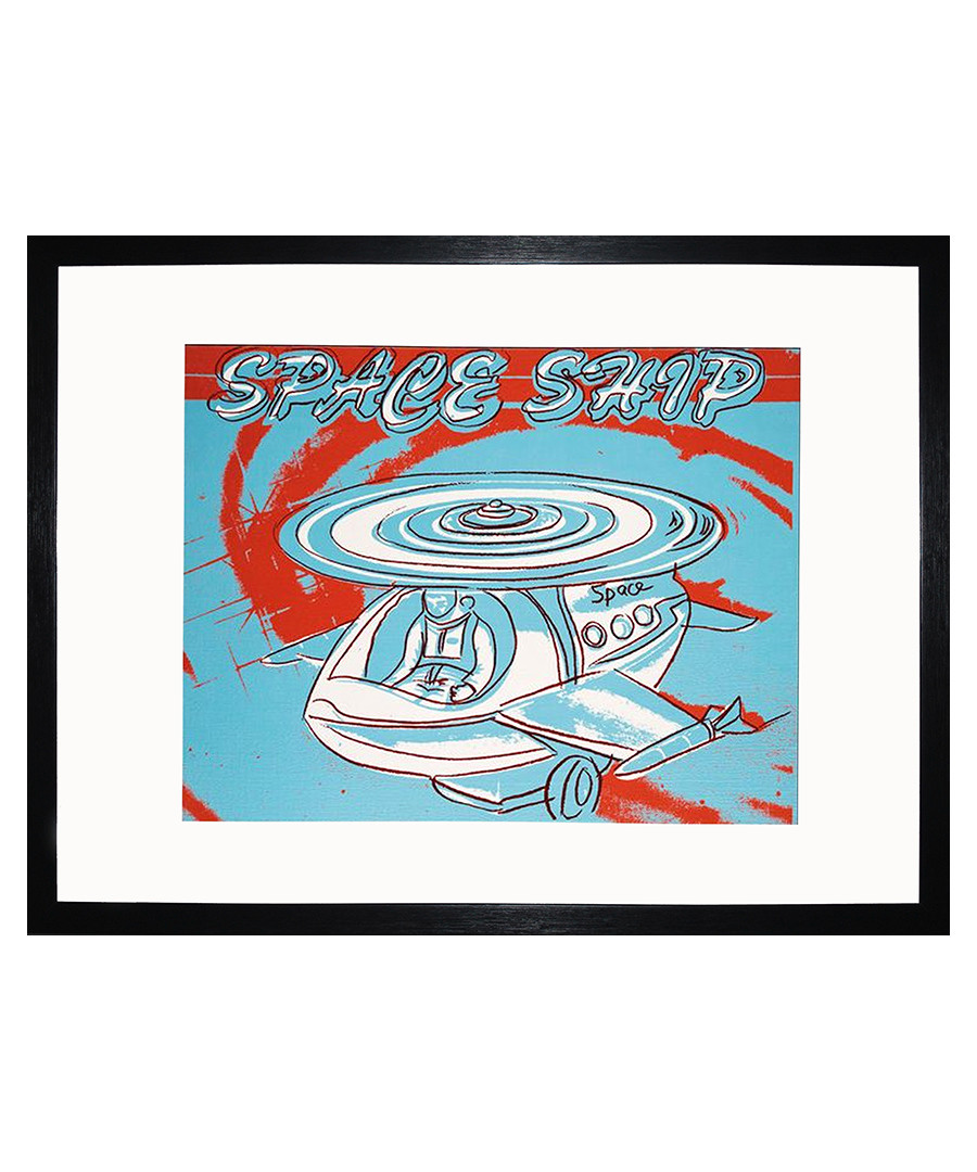 Space Ship framed print 40 x 30 cm Sale - andy warhol