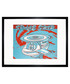 Space Ship framed print 40 x 30 cm Sale - andy warhol Sale