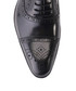 Black leather perforated oxfords Sale - deckard Sale