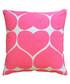 Hearts pink cotton cushion Sale - bombay duck Sale