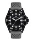 Marin grey & black silicone watch Sale - mathieu legrand Sale