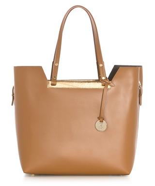 7f810eed978f Tan leather tote bag Sale - zoe   noe Sale