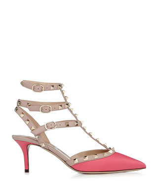 d1877aefc4a Rockstud 65 pink leather courts Sale - Valentino Sale