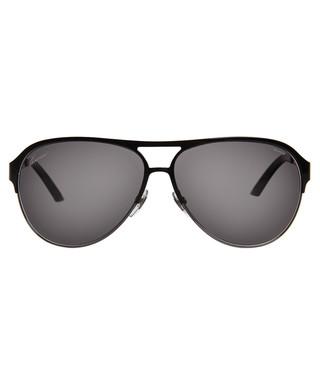 ac4d08d9731e Black polarized aviator sunglasses Sale - Gucci Sale