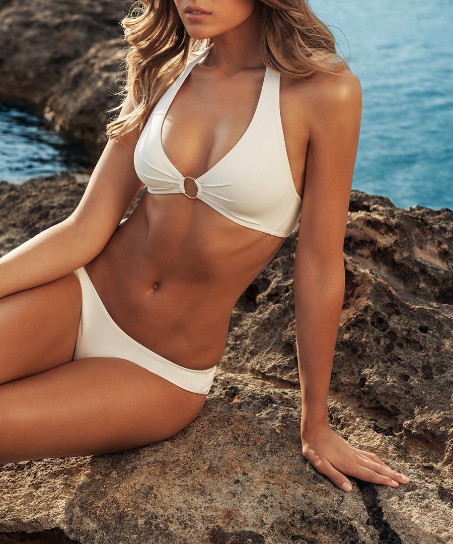 f53a509131659 Vienna cream halterneck bikini set Sale - melissa odabash