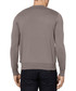 Taupe pure wool V-neck jumper Sale - armani jeans Sale