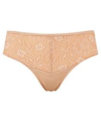 Harem nude lace thong