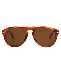 649 vintage Havana & brown sunglasses