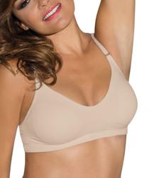 Comfort nude wireless bra