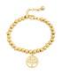 Heritage 18k gold-plated charm bracelet Sale - liv oliver Sale