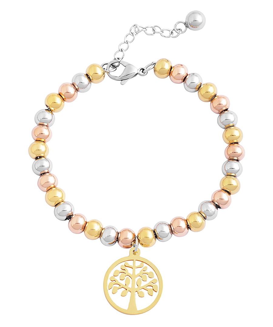 Heritage 18k gold-plated bracelet Sale - chloe collection by liv oliver