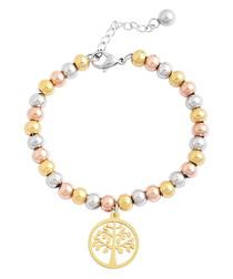 Heritage 18k gold-plated bracelet