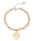 Heritage 18k gold-plated bracelet Sale - chloe collection by liv oliver Sale