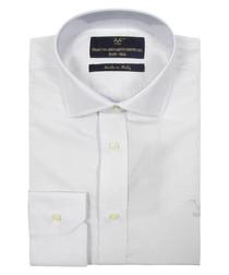 Light grey pure cotton shirt