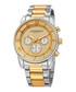 Two-tone crystal dial chronograph watch Sale - akribos XXIV Sale