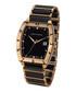 Leandro black & gold-tone ceramic watch Sale - chrono diamond Sale