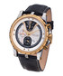 Furia black & gold-tone leather watch Sale - chrono diamond Sale