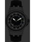 Dionne silver-tone & black leather watch Sale - chrono diamond Sale