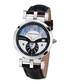 Feronia steel & diamond half-dial watch Sale - chrono diamonds Sale