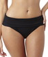 Isobel black folded bikini briefs Sale - panache Sale