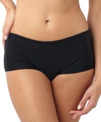 Isobel black bikini shorts
