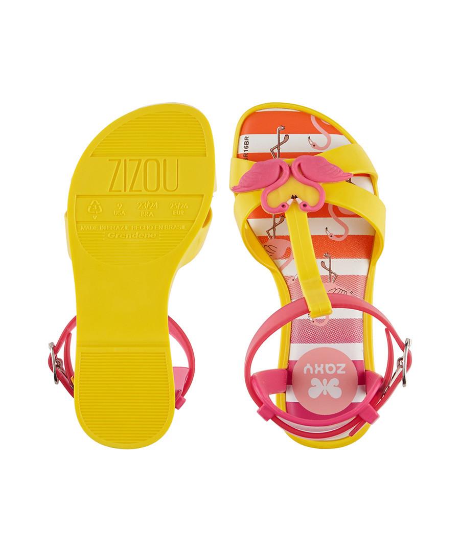 03057d0ba384 ... Kid s Zizou yellow rubber sandals Sale - ...