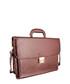 Burgundy bonded leather briefcase Sale - woodland leather Sale
