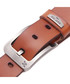 Men's tan brown leather belt  Sale - woodland leather Sale