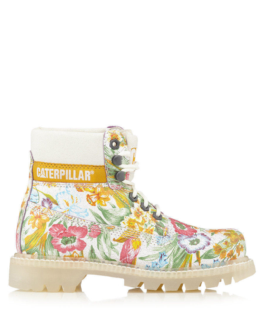 Colorado leather floral boots Sale - Caterpillar